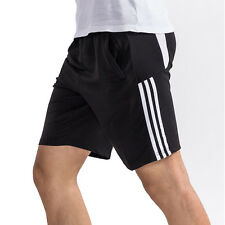 Mens Workout Shorts with Pockets Casual Elastic Gym Beach Trucks Running Jogging