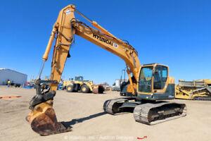 2011 Hyundai R235LCR-9 Hydraulic Diesel Excavator Cab Aux Hyd Robex bidadoo