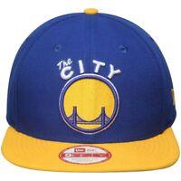 New Era Golden State Warriors Royal 2Tone Hardwood Classics 9FIFTY Snapback Hat