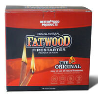 Betterwood Products 9910 Fatwood 10-Pound Firestarter