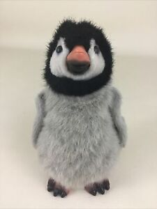 """Furreal Friends Newborn Penguin Interactive Baby 8"""" Plush Toy Hasbro 2009 Tested"""