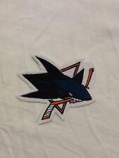 San Jose Sharks Logo NHL Hockey Hat Shirt Jacket Vest Jersey Iron On Patch
