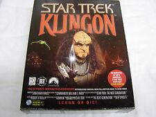 Star Trek Klingon learn Or Die Adventure Game