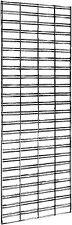Gridmesh panel chrome - 152x61cm  wire display stand, metal slatwall slat wall