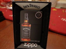 JACK DANIEL'S TENNESSEE WHISKEY OLD NO 7 BRAND BOTTLE ZIPPO LIGHTER MINT IN BOX