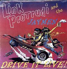 LINK PROTRUDI AND THE JAYMEN Drive It Live LP SURF HOT ROD ROCK VINYL RUDI