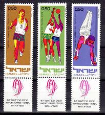SPORT Israel 3 val de 1971 ** NEUF PORT OFFERT - COURSE BASKET GYMNASTIQUE