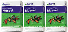 BLOOMS GREEN LIPPED MUSSEL 500MG 180 CAPSULES THREE PACK
