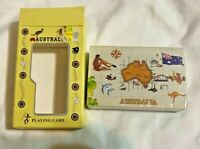 Vintage Sealed Australia Playing Cards