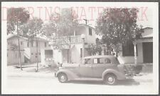 Vintage Car Photo Roadside 1935 Dodge Automobile & House 711253