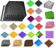 Interlocking Mat Yoga Exercise Gym Fitness Gymnastics Soft Foam Floor 60X60X1 cm