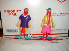 Nathan's Famous Hot Dogs Set Of 2 Franksters Bendable Figures