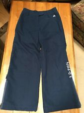 Adidas Vintage Retro Style Track Warm Up Athletic Pants 3..D-91074 Sz XL Navy