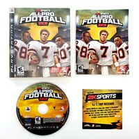 All-Pro Football 2K8 (Sony PlayStation 3, 2007) Complete Tested & Works