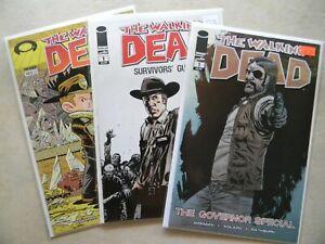 The Walking Dead #103 VARIANT Governor 1 Survivors Guide 1 LOT (Image) NM Unread
