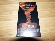 "MICHAEL JACKSON Scream JAPAN 3"" CD Single MINT ESDA7159"
