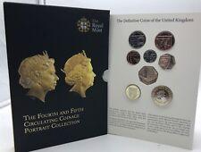 United Kingdom 2015 UK Fifth Effigy Definitive Coin Set - Royal Mint Reino Unido