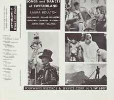 Various Artists - Songs of Switzerland / Various [New CD]