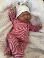 "CHERISH DOLLS CHILDS REBORN STARTER BABY MINNIE 18"" 2LB 2OZ NEW UK SLEEPING"
