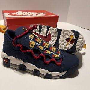 Nike Air AR5396-400 More Money 'Nautical Redux' Men's Sneakers Size 10.5