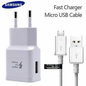 Original Samsung Schnell Ladegerät USB Micro Kabel Für Galaxy S7 Edge S6 Note4 5