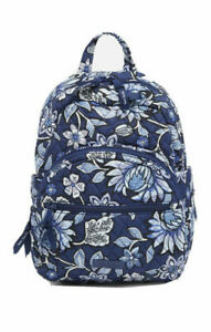 NWT Vera Bradley Essential Compact Small cotton BACKPACK in TROPICS TAPESTRY
