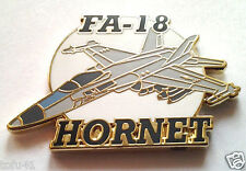 FA-18 HORNET   Military Veteran US Navy Hat Pin P15933 EE