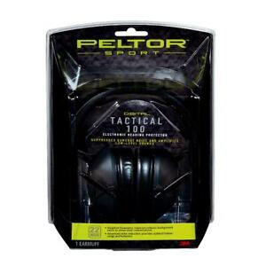 Peltor Sport Tactical 100 Electronic Hearing Protector, TAC100-OTH