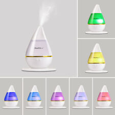 Ultrasonic Humidifier Air Purifier Essential Oil Aroma Diffuser Aromatherapy UK
