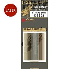 135502 HGW Belts (LASER) - Straps 2mm 1:35