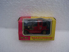 matchbox models of yesteryear by lesney1912 packard landaulet y11  boxed