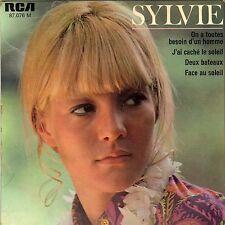 SYLVIE VARTAN FACE AU SOLEIL FRENCH ORIG EP JEAN-CLAUDE VANNIER