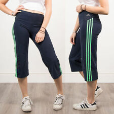 adidas Calf Length Polyester Trousers for Women