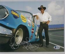 Richard Petty 1957 OLDSMOBILE CONVERTIBLE #43 HOFer signed 8x10 photo BGS COA