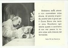 137477 padre pio vecchia cartolina spedita