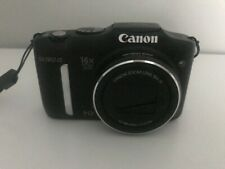 Used Canon PowerShot SX160 IS 16.0MP Digital Camera - Black