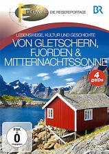 DVD de Glaciares, Fiordos y Sol de medianoche de BR Fernweh 4DVDs