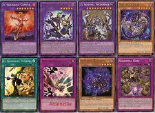 Yugioh Shaddoll Spellcaster Deck - Winda Shekhinaga Grysta Dragon Fusion