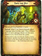 Lord of the Rings LCG - 1x into the pit #001 - Nightmare Deck Khazad-Dum