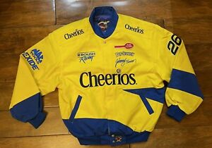 Johnny Benson #26 Cheerios Racing Jacket Mens Size X Large NASCAR JH Design