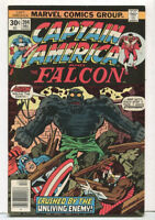 Captain America #204 VF/NM The Falcon Bronze Age Vintage Marvel Comics 1976 SA