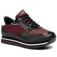 Tommy Hilfiger Low Damen Sneaker Low Braun