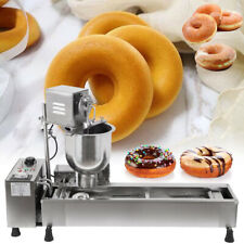 More details for 220v 3000w commercial automatic donut maker making machine oil tank 3 sets mold
