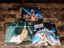Star Wars Rare Laserdisc Collection Japan Empire Strikes Back Return Of The Jedi