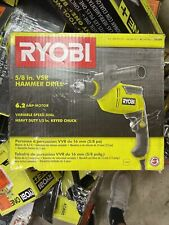Ryobi D620h 62 Amp Corded 58 In Variable Speed Hammer Drill