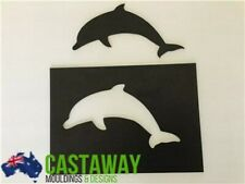 Dolphin Stencil and Silhouette Set - Strong & Reusable