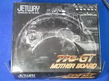 Jetway 775 GT nuevo placa madre motherboard nuevo con accesorios