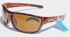 SUNCLOUD Conductor Bifocal/Readers +2.00 POLARIZED Sunglasses Tort/Brown Smith