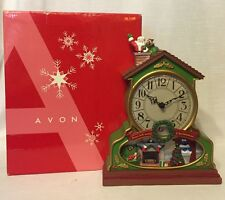 Avon 2007 Christmas Countdown Clock w/Santa ~ Accurate Time ~ Orig Box