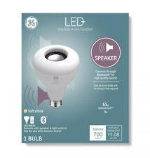 General Electric BR30 Speaker LED + Light Bulb Soft White